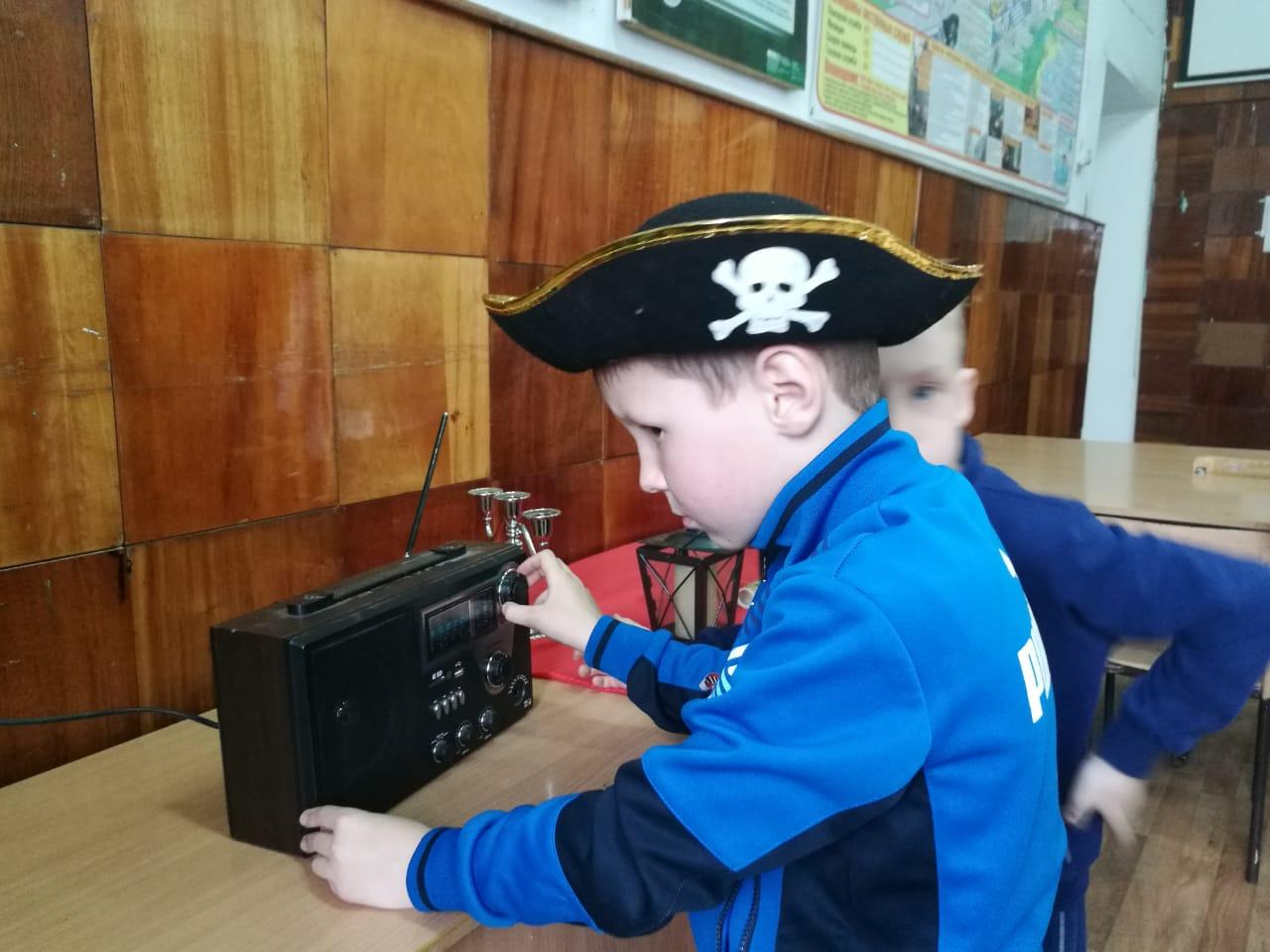 Детский пиратский квест